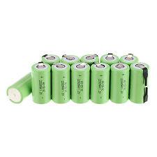 HOt 12 x Sub C SC 1.2V 2200mAh Ni-Cd NiCd Rechargeable Battery Batteries -Green
