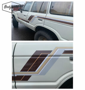 "TOYOTA LANDCRUISER 60 Series stripes/graphics ""Z'' STYLE"
