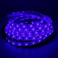 5m 20m LED Strip light 5050 DC 12V 24V Waterproof RGB White 3M Tape string Light