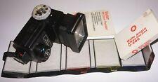 Flash Vivitar  285 avec diffuseur Gd.angle, 6 filtres couleur et mode d'emploi.