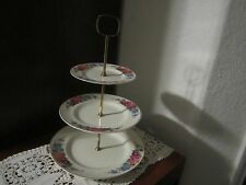 STAFFORDSHIRE ENGLAND  3 TIER SERVER MIDWINTER VINTAGE