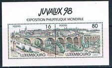Luxembourg 1992 Mi N°Block 17 Mnh**  JUVALUX´98.City Luxembourg. Old engraving