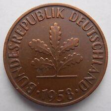 Alemania 2 Pfennig 1958 F