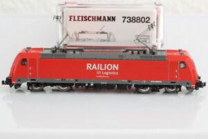 N Fleischmann 738802 Railion DB Elektrolok E-Lok Elok analog OVP/J55