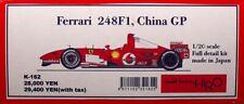 1/20 Ferrari 248 F1 - China GP - Model Factory Hiro Resin kit (started)