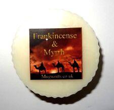 Frankincense & Myrrh Scented Wax Tart Melt, Holidays, Christmas, Yule, Gift,