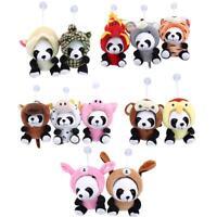 Cute Plush Doll Toy Stuffed Chinese Zodiac Panda Soft Pillow Cushion Bolster SS3