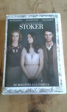 Como new DVD film STOKER - DO NOT DISTURB TO THE FAMILY - Item For Collectors