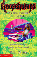 My Best Friend is Invisible (Goosebumps), Stine, R. L., Very Good Book