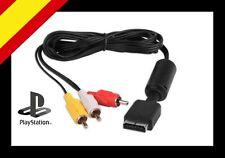CABLE AUDIO VIDEO AV RCA SONY PLAYSTATION PS1 PS2 NUEVO