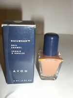 AVON NAILWEAR NAIL ENAMEL FIG N  NEW IN BOX      .2 oz