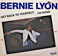 ++BERNIE LYON get back to yourself/i'm home SP 1981 BARCLAY EX++