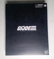 """GI Joe Classified SNAKE EYES Deluxe Hasbro Pulse Exclusive NEW UNOPENED 6"""" Scale"""