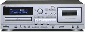 TEAC AD-850 CD Cassettes deck Tape Player USB Microphone input CD-R/RW Record JP