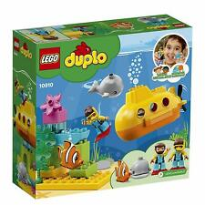 LEGO 10910 Duplo Town Deep Sea Discovery Submarine Adventure Toddler Playset