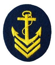 Kriegsmarine Ober Boatswain Senior NCO Trade Badge - WW2 Repro Patch German Navy