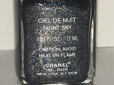 "CHANEL ""CIEL DE NUIT / NIGHT SKY"" Nail Polish BNWOB"