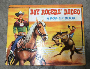 Roy Rogers Rodeo Pop Up Book