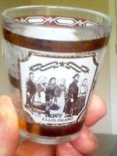 Ellis Island fancy shot glass