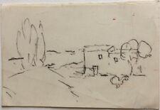 René Seyssaud (1867-1952) Paysage -P7V-