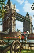 Postcard London Tower Bridge Bridge   posted  Hinde