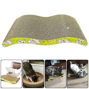 BIg Cat Cardboard Corrugated Furniture Scratcher Pad comfortable Bed Board Mat