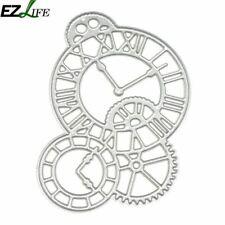 Scrapbooking Metal Cutting Dies Metal Clock Dies Stencil For DIY Scrapbooking Al