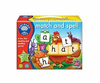 *New* Orchard Toys Match and Spell Educational Kids Role Play Board Game Toy