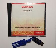 Bernina Embroidery Editor Lite V4 CD And Dongle For Artista 165 170 180 200 730