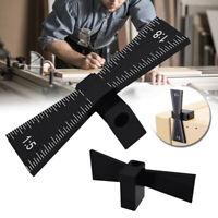 KE_ 1/5 1/8 Dovetail Marker Marking Gauge Woodworking Tool for Hard/Soft wood