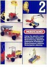 Original Meccano Set No 2 Manual