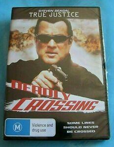TRUE JUSTICE Deadly Crossing DVD NEW SEALED Steve Seagal Region 4 see below