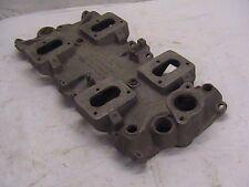 Man-a-fre Small Block Chevy 4 Deuce Intake Manifold Rare 4x2 S.B.C.