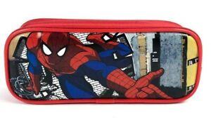 Marvel Spider-man Spider Sense Red Color Pencil Case Pencil Pouch