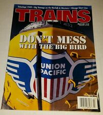 Trains Magazine March 2001
