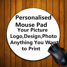 Custom Made Personalized ROUND Mouse Pad Photo,COMIC MOVIE picture mouse mat