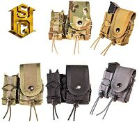 HSGI MOLLE or BELT LEO Taco Covered Pouch-Multicam-Coyote-Olive Drab-Black-Wolf
