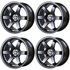 4 x Bola B1 Gunmetal Grey Alloy Wheels - 17x7.5 | 4x108 | ET45