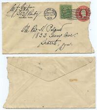 51176 - USA - Ganzsache - ZuF - Umschlag - Pullman, Wash. 6.12.1932 nach Seattle