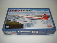 MINICRAFT 1/144 SCALE CAPITAL AIR LINES DC-6B AIRLINER FREE POSTAGE