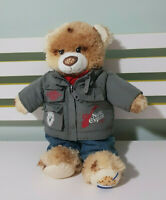 COOKIE STYLE BUILD A BEAR DRESSED IN NORDIC EXPLORER JACKET! 40CM !