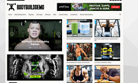 Body Buildin News / Affiliate product website,100% automated -Premium designed-