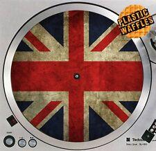 "British Flag Union Jack #1 Union Flag Turntable 12"" Record Player DJ Audiophile"