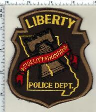 Liberty Police (Missouri)  Shoulder Patch  from 1992
