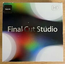 More details for apple final cut studio 3 hd retail boxed dvd version mb643z/a