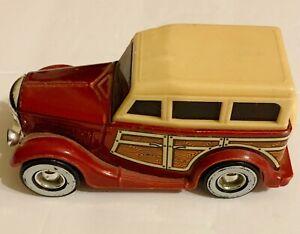 Vintage 1980's Ford Woody Panel Wagon Tinplate & Plastic