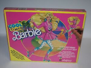Cool Times Barbie Deluxe Play Set by Colorforms #2381 SEALED Mattel 1989