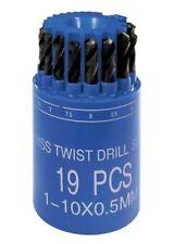 CILINDRO PUNTE HSS BIT-BOX MM. 1-10 X 0,5 PZ.19 TAMBURO