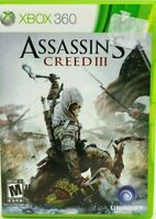 Microsoft Xbox 360 Assassin's Creed III 2012 DISC 2 ONLY (Disc 1 missing)