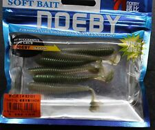 Soft Plastic Minnow, NOEBY, 4.5cm & 7.5cm, Scented Lure, Paddle Tail, Shad, Grub
